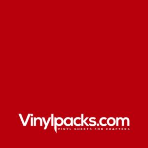 Oracal 651 Vinyl - Red