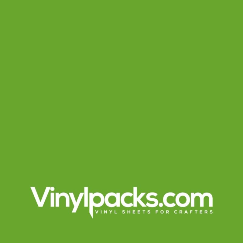 Oracal 651 Vinyl - Lime Tree Green