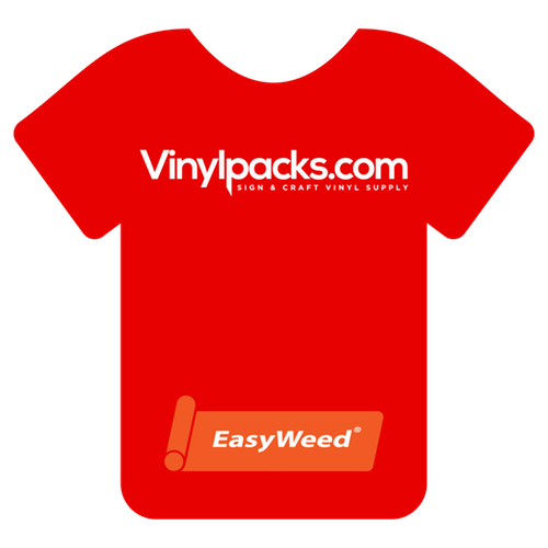 Siser EasyWeed Bright Red HTV