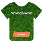 Grass Green Glitter HTV