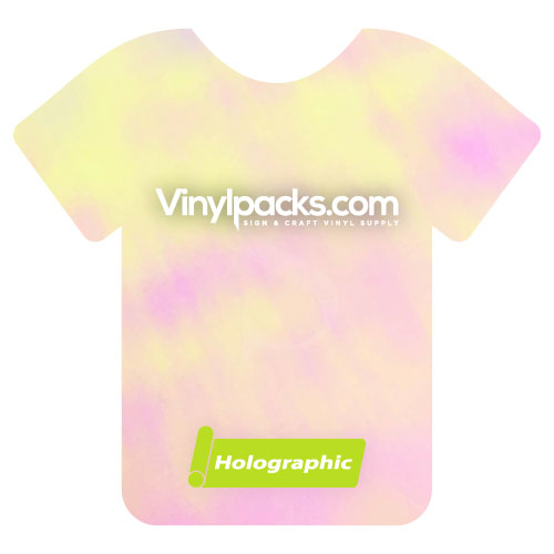 Holographic Pearl Heat Transfer Vinyl