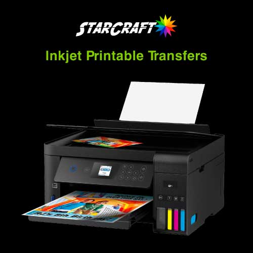 Inkjet Printable HTV Transfers