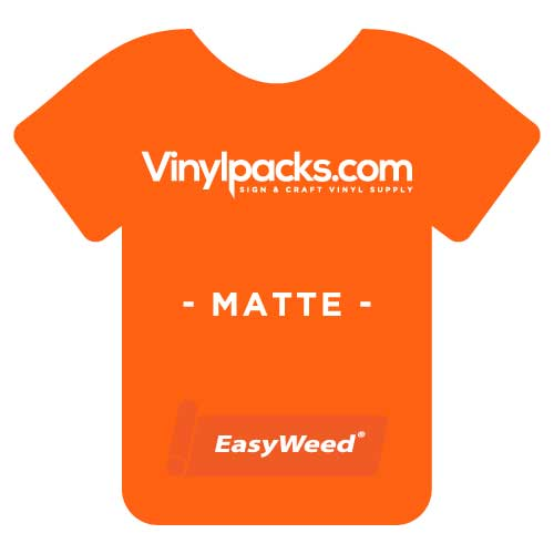 Siser EasyWeed Matte Orange HTV