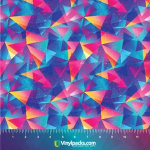 Abstract Geometric Triangle Vinyl